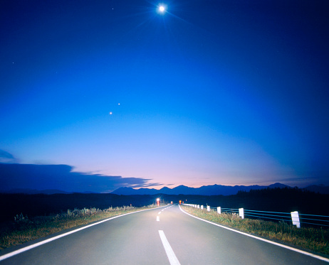 Twilight「Motorway at night」:スマホ壁紙(12)