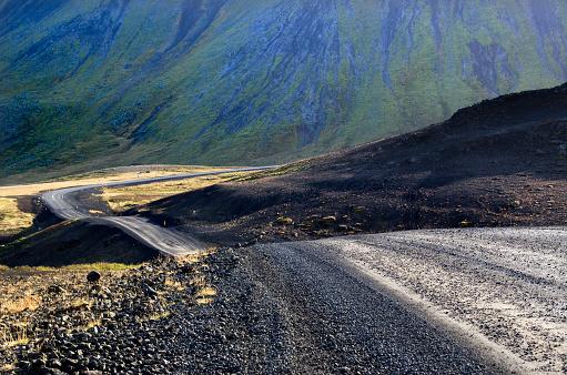 Empty Road「Iceland Roads」:スマホ壁紙(19)