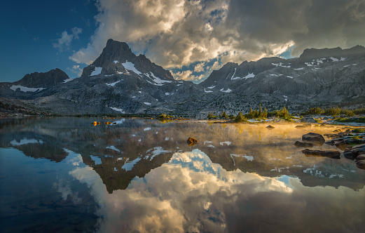 Inyo National Forest「Banner Peak After a Storm, Inyo National Forest, California, USA」:スマホ壁紙(9)