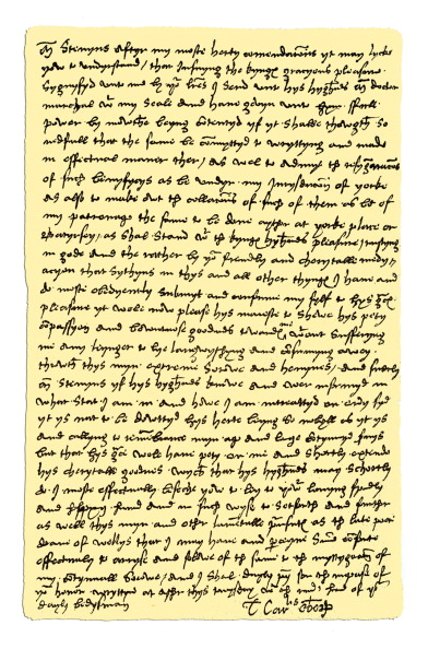 Writing「Autograph: Thomas Wolsey, Cardinal, Archbishop of York, 1530.」:写真・画像(7)[壁紙.com]