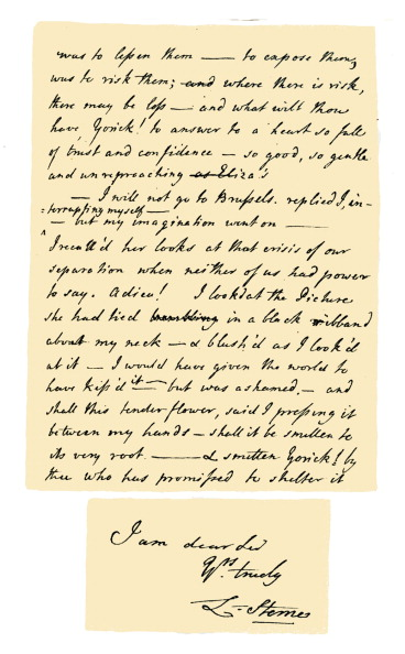 Writing「Autograph: Laurence Sterne, 1767.」:写真・画像(7)[壁紙.com]