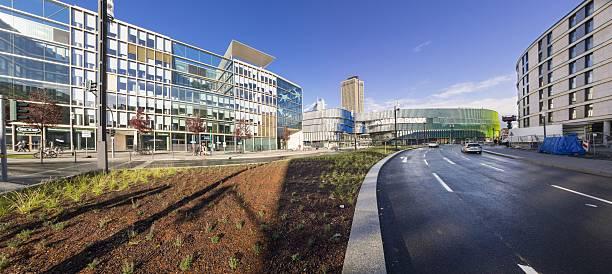 Germany, Hesse, Frankfurt, European Quarter, Modern office buildings:スマホ壁紙(壁紙.com)