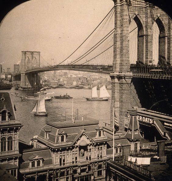 Brooklyn - New York「Brooklyn Bridge」:写真・画像(8)[壁紙.com]