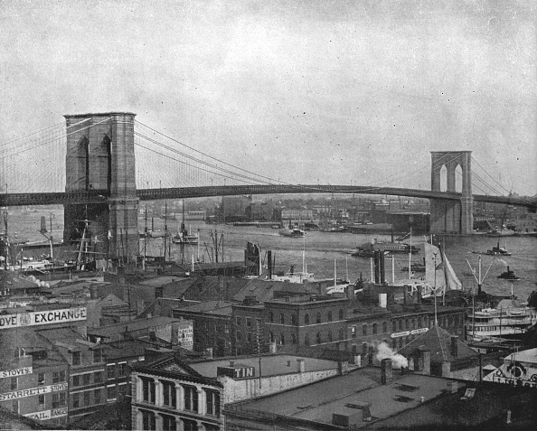 1900-1909「Brooklyn Bridge」:写真・画像(1)[壁紙.com]