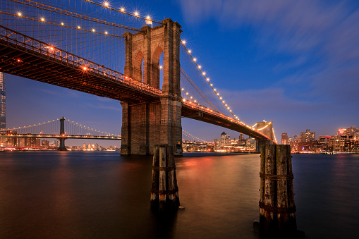 Wooden Post「Brooklyn Bridge」:スマホ壁紙(10)