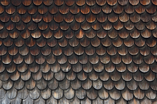 Siding - Building Feature「Shingle facade, Bad Hindelang. Oberallgaeu, Bavaria, Germany」:スマホ壁紙(16)