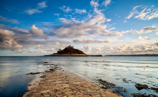 Castle「St Michael's Mount In Cornwall」:スマホ壁紙(14)