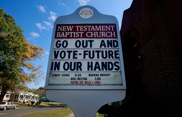 Southern USA「Former Civil Rights Battlegrounds Await Culmination Of Historic Election」:写真・画像(19)[壁紙.com]