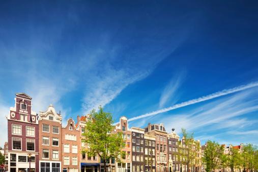 Amsterdam「Dutch Houses in Amsterdam」:スマホ壁紙(15)
