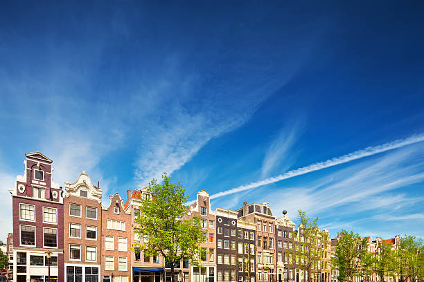 Dutch Houses in Amsterdam:スマホ壁紙(壁紙.com)