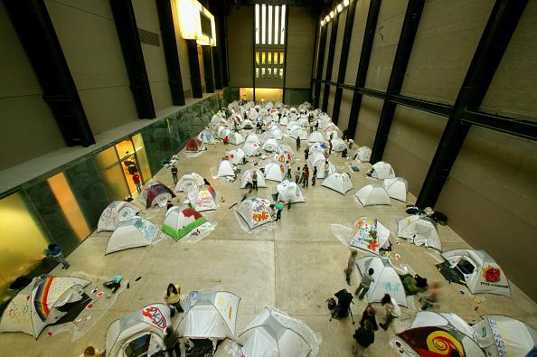 Activity「Tate Modern Turbine Hall Becomes Overnight Campsite」:写真・画像(14)[壁紙.com]