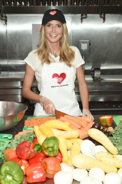 Healthy Eating「Heidi Klum Helped Prepare Meals For God's Love We Deliver」:写真・画像(4)[壁紙.com]