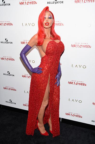 Celebrities「Heidi Klum's 16th Annual Halloween Party sponsored by GSN's Hellevator And SVEDKA Vodka At LAVO New York - Arrivals」:写真・画像(9)[壁紙.com]