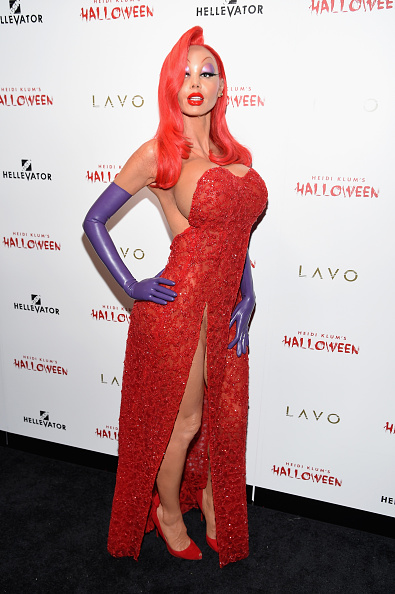 セレブリティ「Heidi Klum's 16th Annual Halloween Party sponsored by GSN's Hellevator And SVEDKA Vodka At LAVO New York - Arrivals」:写真・画像(18)[壁紙.com]