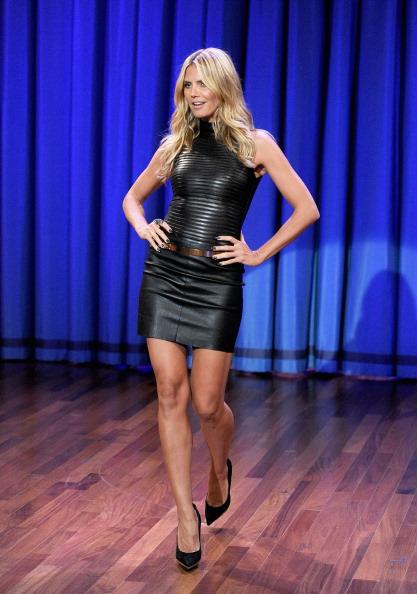 "Visit「Heidi Klum Visits ""Late Night With Jimmy Fallon""」:写真・画像(8)[壁紙.com]"