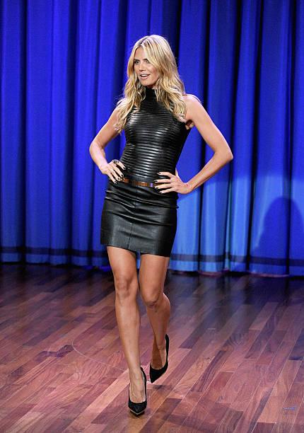 "Heidi Klum Visits ""Late Night With Jimmy Fallon"":ニュース(壁紙.com)"