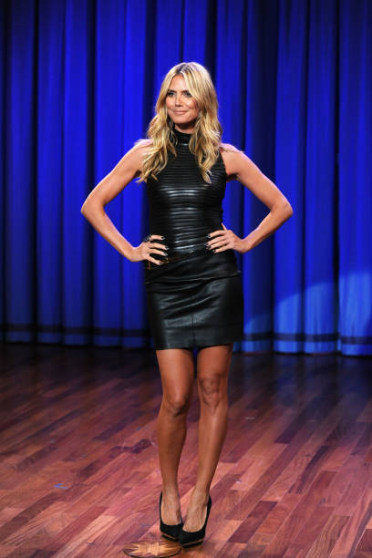"Heidi Klum Visits ""Late Night With Jimmy Fallon"":ニュース(壁紙.com)"