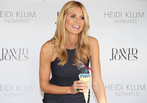 Heidi Klum At David Jones For Heidi Klum Intimates:ニュース(壁紙.com)