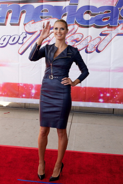 "Form Fitted Dress「""America's Got Talent"" Season 8 Meet The Judges Red Carpet Event」:写真・画像(1)[壁紙.com]"