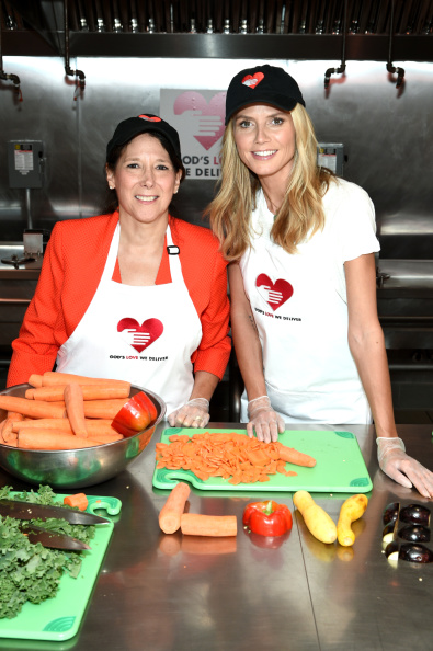 Healthy Eating「Heidi Klum Helped Prepare Meals For God's Love We Deliver」:写真・画像(9)[壁紙.com]