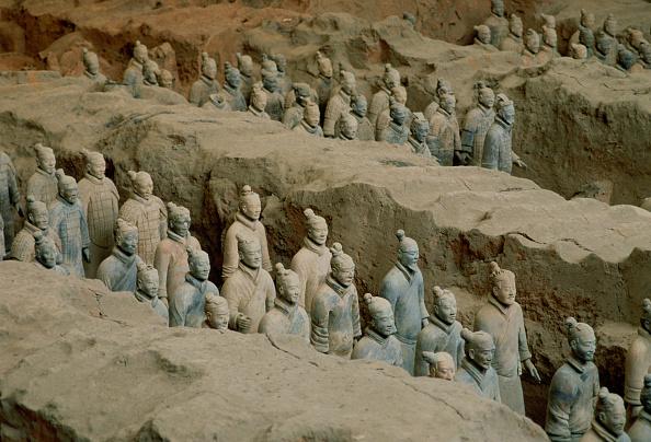 Finding「Terracotta Army of Warriors, Xian, China」:写真・画像(7)[壁紙.com]