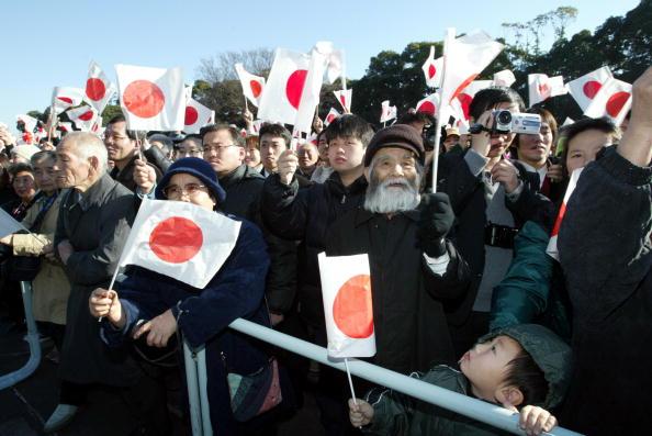 Imperial Palace - Tokyo「Japanese Royal Family Celebrate Emperor's 70th Birthday」:写真・画像(18)[壁紙.com]