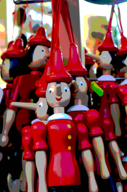 Pinocchio Wooden Puppets:スマホ壁紙(壁紙.com)