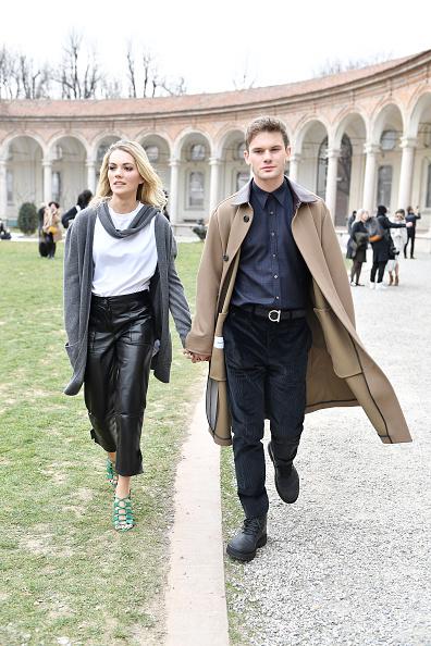 Jeremy Irvine「Salvatore Ferragamo - Arrivals: Milan Fashion Week Autumn/Winter 2019/20」:写真・画像(0)[壁紙.com]