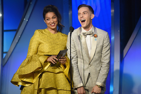 Adam Rippon「30th Annual GLAAD Media Awards New York – Inside」:写真・画像(8)[壁紙.com]