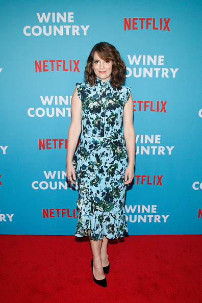 "Cap Sleeve「Netflix Premiere of ""Wine Country""」:写真・画像(9)[壁紙.com]"