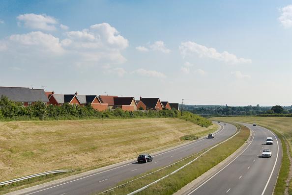 Copy Space「A131 dual-carriageway stretch near Braintree, Essex, UK」:写真・画像(8)[壁紙.com]