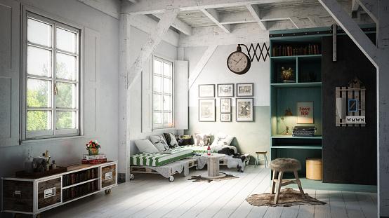 Desk Lamp「Warm and Cozy Scandinavian Interior」:スマホ壁紙(19)