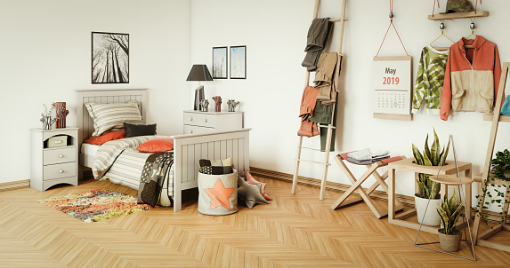 Youth Culture「Warm and Cozy Bedroom Interior」:スマホ壁紙(11)