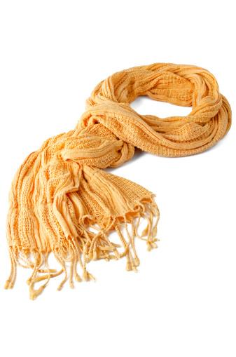 スカーフ「Yellow scarf」:スマホ壁紙(13)