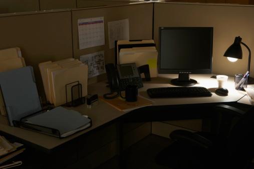 Desk Lamp「Cabin of office」:スマホ壁紙(11)