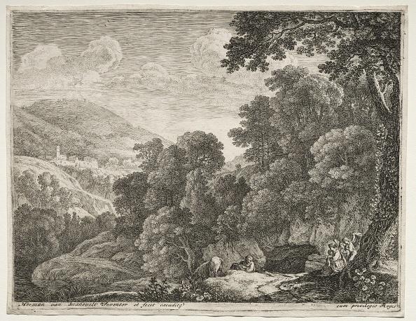 Etching「The Flight Into Egypt: The Cave. Creator: Herman Van Swanevelt (Dutch」:写真・画像(18)[壁紙.com]