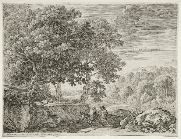 Etching「The Flight Into Egypt: The Holy Family. Creator: Herman Van Swanevelt (Dutch」:写真・画像(19)[壁紙.com]