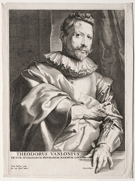 Sir Anthony Van Dyck「Theodorus Vanlonius. Creator: Paulus Pontius (Flemish」:写真・画像(12)[壁紙.com]