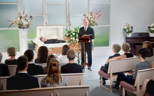 女「A Funeral Service」:スマホ壁紙(15)