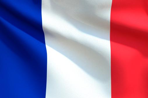 Tricolor「Close up Flag - France」:スマホ壁紙(3)