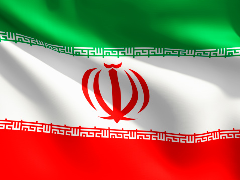 Iran「Close Up Flag - Iran」:スマホ壁紙(10)