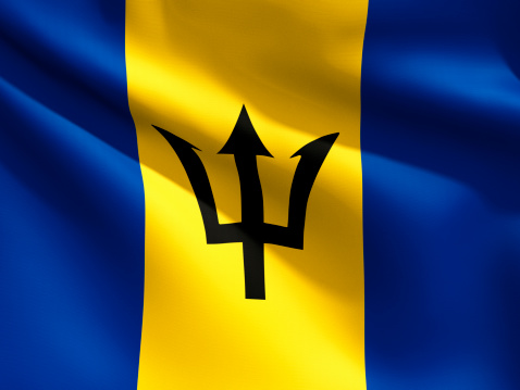 Barbados「Close Up Flag - Barbados」:スマホ壁紙(9)