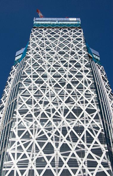 Shinjuku Ward「Mode Gakuen Cocoon Tower under construction in Shinjuku, Tokyo, Japan, Nov 2007 Architect Tange Associates」:写真・画像(3)[壁紙.com]