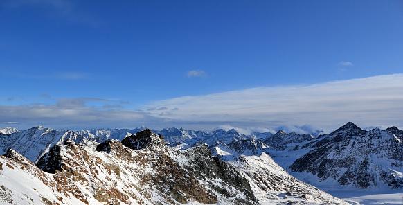 スキー「山のパノラマ」:スマホ壁紙(6)