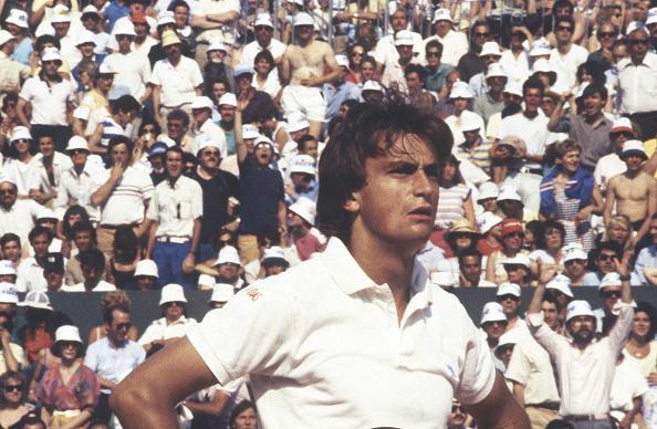 アンリ ルコント「Tennis Champion Henri Leconte At Roland Garros Tournament」:写真・画像(7)[壁紙.com]
