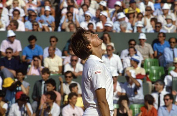 アンリ ルコント「Tennis Champion Henri Leconte At Roland Garros Tournament」:写真・画像(4)[壁紙.com]