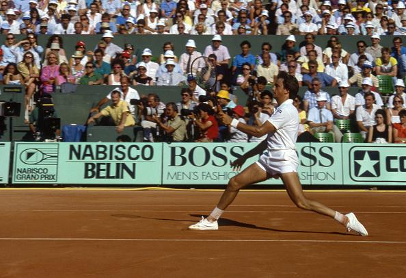 アンリ ルコント「Tennis Champion Henri Leconte At Roland Garros Tournament」:写真・画像(5)[壁紙.com]