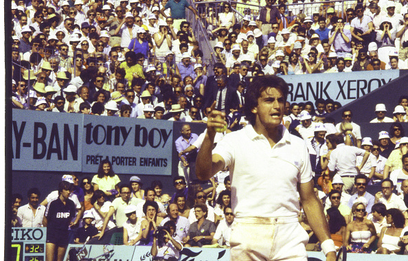 アンリ ルコント「Tennis Champion Henri Leconte At Roland Garros Tournament」:写真・画像(0)[壁紙.com]