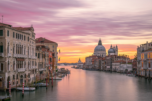 Cathedral「the Grand Canal sunrise,venice」:スマホ壁紙(5)