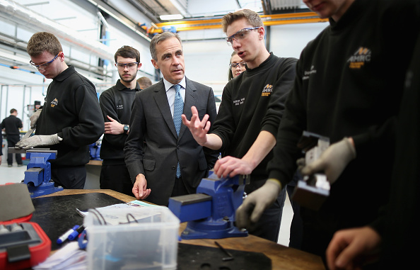 Corporate Business「Governor Of The Bank Of England Gives Speech In Sheffield」:写真・画像(2)[壁紙.com]